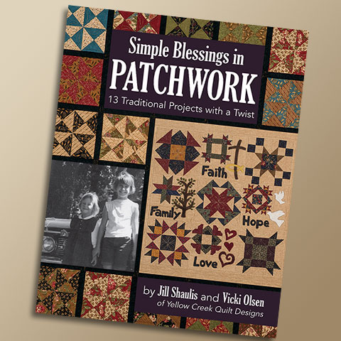 Simple Blessings in Patchwork Book