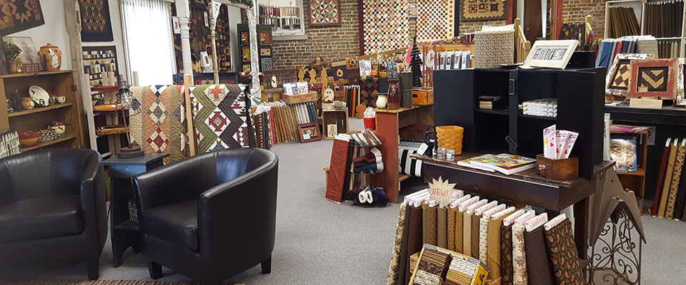 Yellow Creek Quilt Shop interior photo