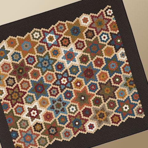 Stars In The Garden II Kit/Pattern