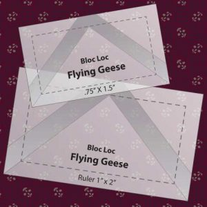 Bloc Loc Flying Geese Ruler Combo