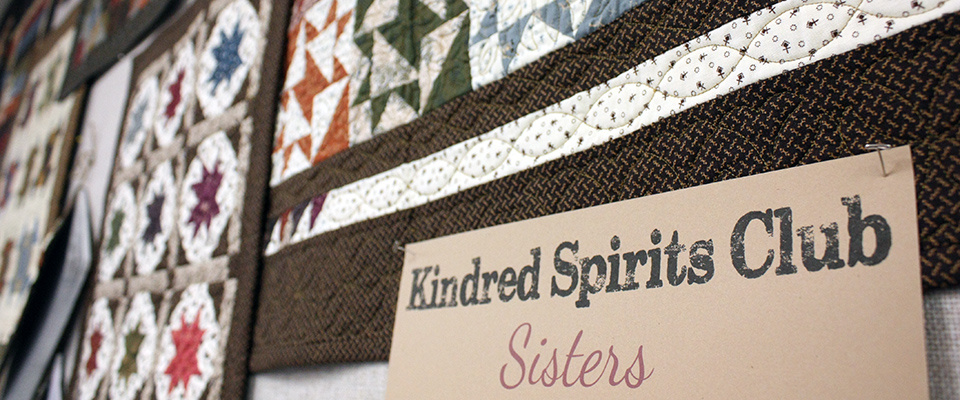 Yellow Creek Quilt Designs Kindred Spirits Club header