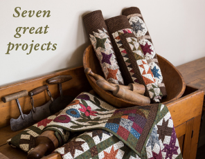 Yellow Creek Quilt Designs Kindred Spirits Seven great projects
