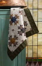 Yellow Creek Quilt Designs Kindred Spirits Cross My Heart pattern