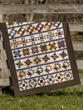 Yellow Creek Quilt Designs Kindred Spirits Andrew's Mill pattern