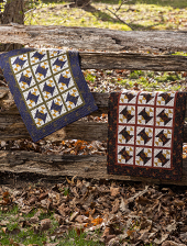 Yellow Creek Quilt Designs Kindred Spirits Spoolin' Around pattern